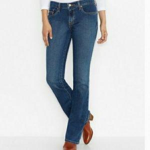 Levis medium wash 515 bootcut jeans 10L